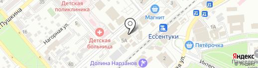 Каруселька на карте Ессентуков