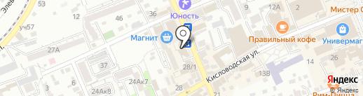 EGOISTE на карте Ессентуков