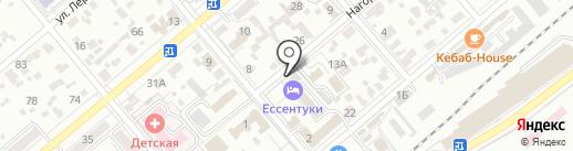 Почтовое отделение №26 на карте Ессентуков