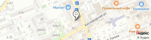 ПЕКАРЬSTYLE на карте Ессентуков