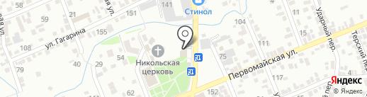 Хуторок на карте Ессентуков