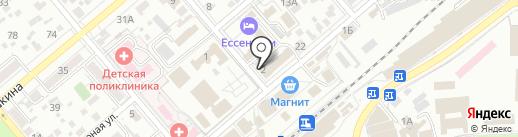 Ставропольпромстройбанк на карте Ессентуков