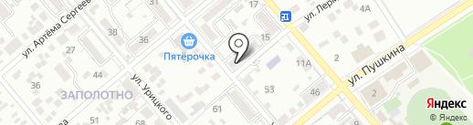 Почтовое отделение №23 на карте Ессентуков