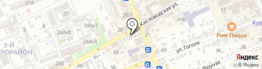 Дивные окна на карте Ессентуков