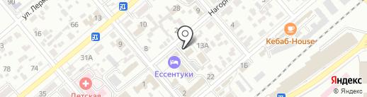 Отдел Военного комиссариата по г. Ессентуки на карте Ессентуков