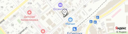 Институт сервиса и технологий на карте Ессентуков