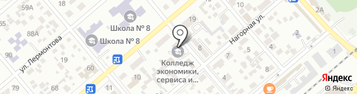 Универсал на карте Ессентуков