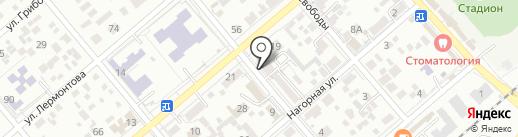 Агрин на карте Ессентуков
