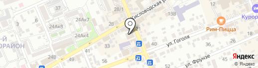KDL на карте Ессентуков