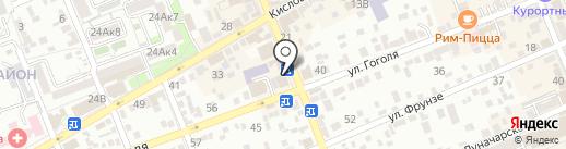 Black rabbit на карте Ессентуков