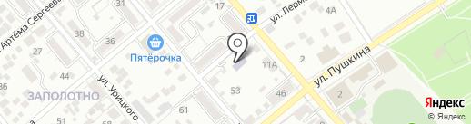Детский сад №20 на карте Ессентуков