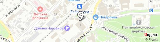 РосТ на карте Ессентуков