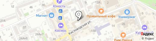 Бари Асс на карте Ессентуков