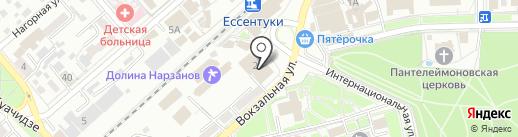 Банкомат, Хоум Кредит энд Финанс Банк на карте Ессентуков