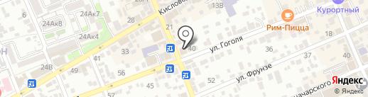 Союз на карте Ессентуков