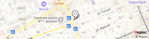 Торгово-сервисный центр на карте Ессентуков