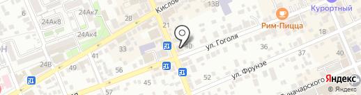 Areva на карте Ессентуков