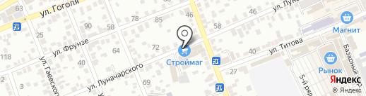 Магазин отделочных материалов на карте Ессентуков