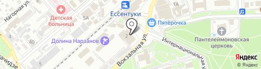 Касса по продаже билетов на карте Ессентуков