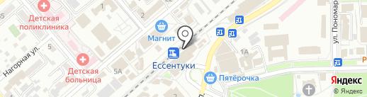 Линейный ОВД на карте Ессентуков
