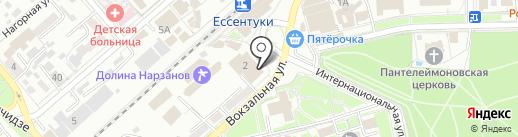 Шестнадцатый арбитражный апелляционный суд на карте Ессентуков