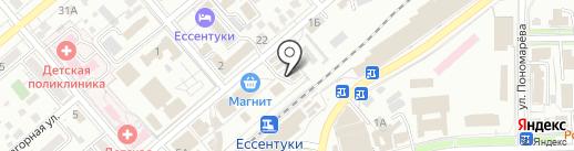 Копейкин дом на карте Ессентуков