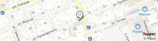 Сантехника на карте Ессентуков
