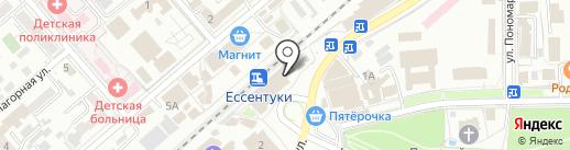 СОТЛАЙН+ на карте Ессентуков