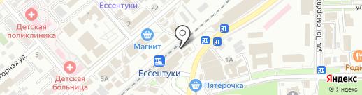 Модный прикид на карте Ессентуков
