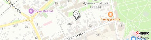 Стандарт на карте Ессентуков