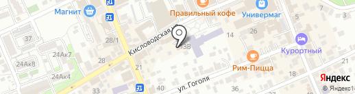 Полiграфъ на карте Ессентуков
