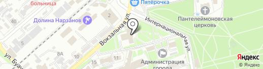 Министерство РФ по делам Северного Кавказа на карте Ессентуков