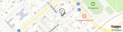 Овощной магазин на карте Ессентуков