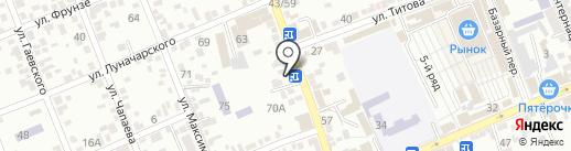 Адонис на карте Ессентуков