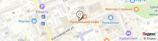 София на карте Ессентуков