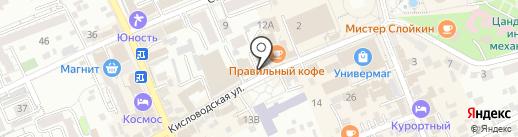 У Солохи на карте Ессентуков