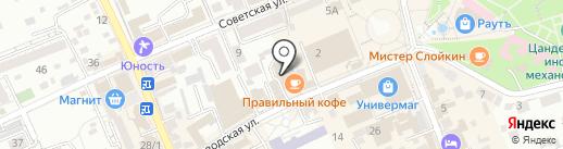 Правильный кофе на карте Ессентуков