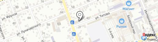 Стинол на карте Ессентуков