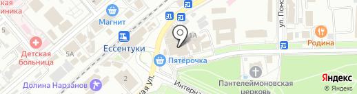 Zenden на карте Ессентуков