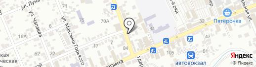Адвокатские кабинеты Буреко С.А., Павленко Е.Б., Ляшенко А.В. на карте Ессентуков