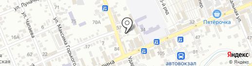 Дэком на карте Ессентуков
