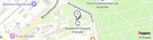 Дума г. Ессентуки на карте Ессентуков