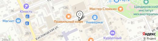 Историко-краеведческий музей им. В.П. Шпаковского на карте Ессентуков