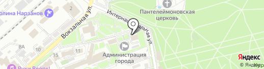 Отдел приема граждан на карте Ессентуков