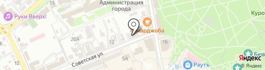 Межрегиональное управление Федеральной службы по финансовому мониторингу по СКФО на карте Ессентуков