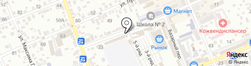 Двери-Эконом на карте Ессентуков