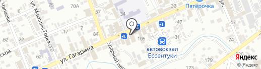 Царство праздников на карте Ессентуков