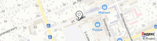 Магазин мебели на карте Ессентуков