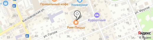 Катерина-Тур на карте Ессентуков