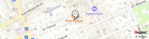 Надежда на карте Ессентуков